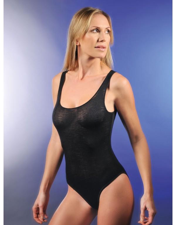 Body S/L Donna SARA 8515 di Madiva - Lana/Seta
