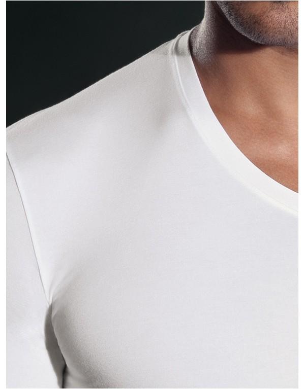"""T-Shirt mezza manica scollo a """"V"""" 24351 di Perofil"""