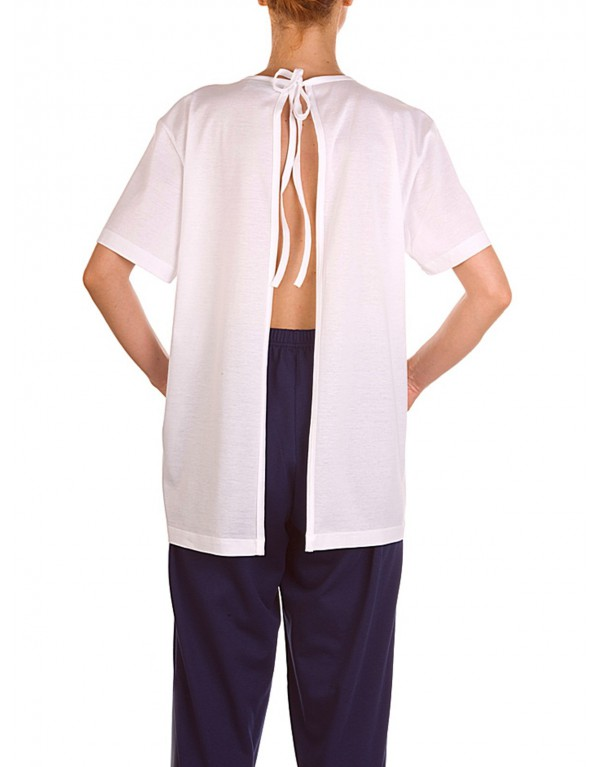T-Shirt aperta lato schiena art.1027