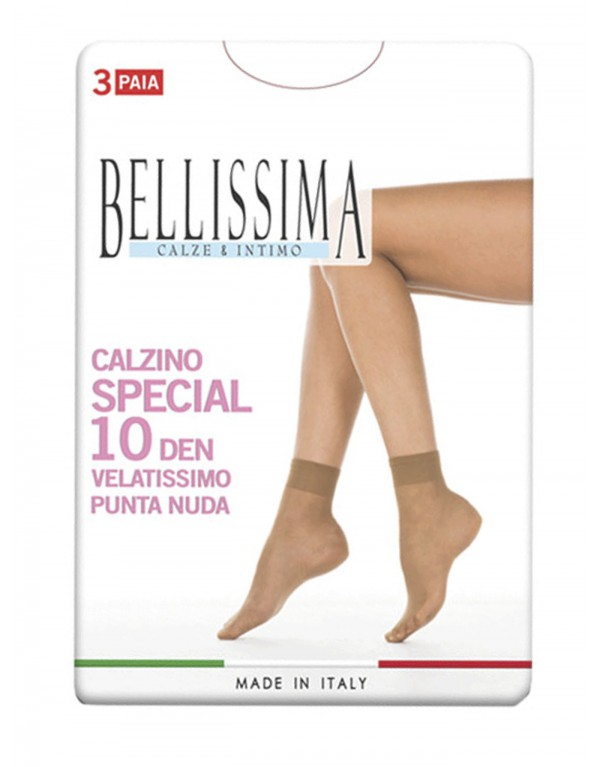 Calzino donna Bellissima SPECIAL 10 den - 3 PAIA