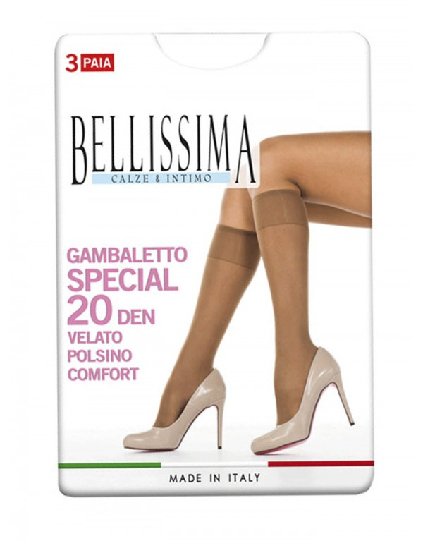 Gambaletto donna Bellissima SPECIAL 20 den - 3 PAIA