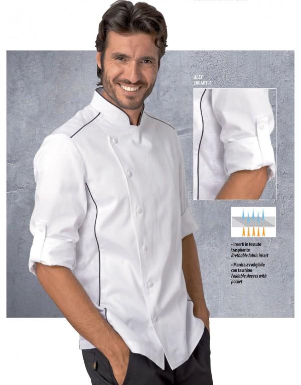 Giacca Chef Uomo Alex Siggi