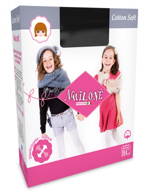 Collant invernale bambina Cottonsoft 3D Aquilone
