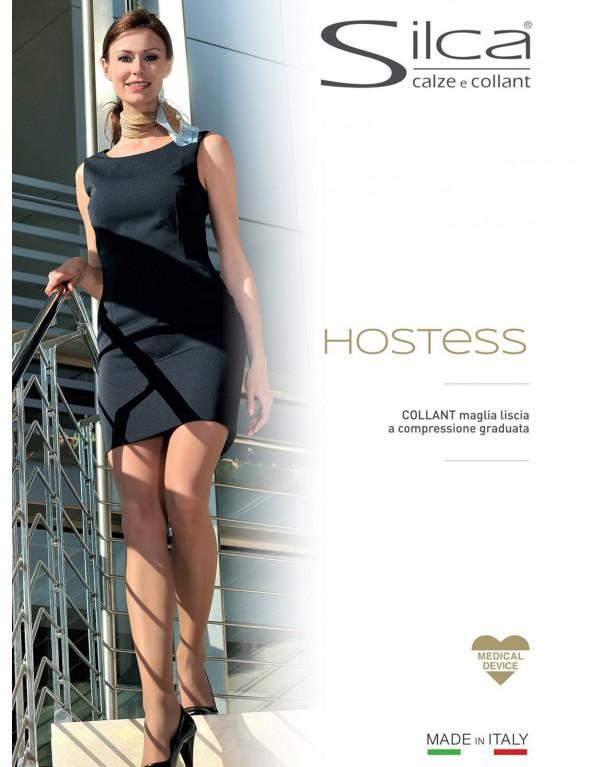 Collant donna HOSTESS 100 den Silca