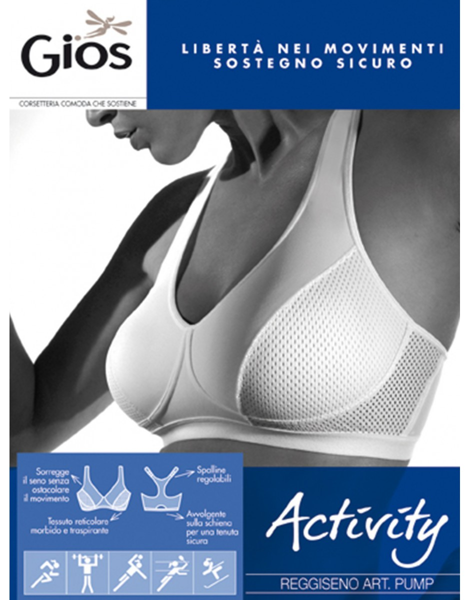 Reggiseno Gios art. PUMP Activity